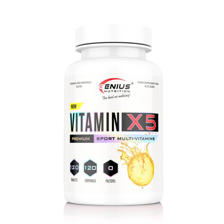 Genius Nutrition - Vitamin X5