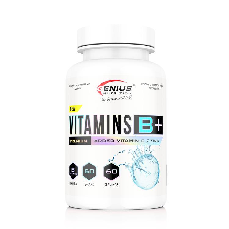 Genius Nutrition - Vitamins B+